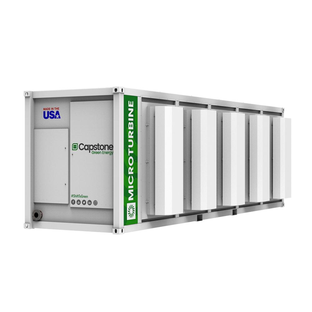 Capstone Green Energy เครื่องกำเนิดไฟฟ้ากังหันแก๊ส หรือไมโครเทอร์ไบน์ C1000s_Microturbines