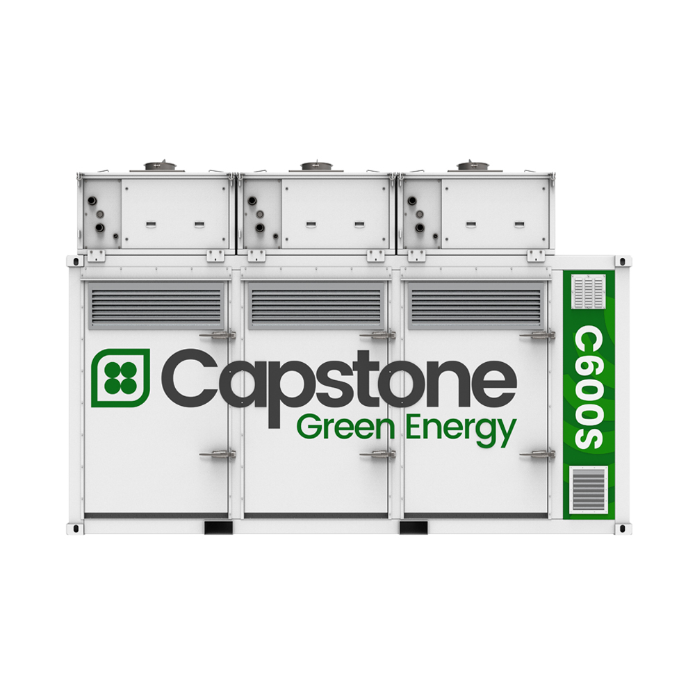 Capstone Green Energy. Smarter Energy for a Cleaner Future. C600s_Microturbines