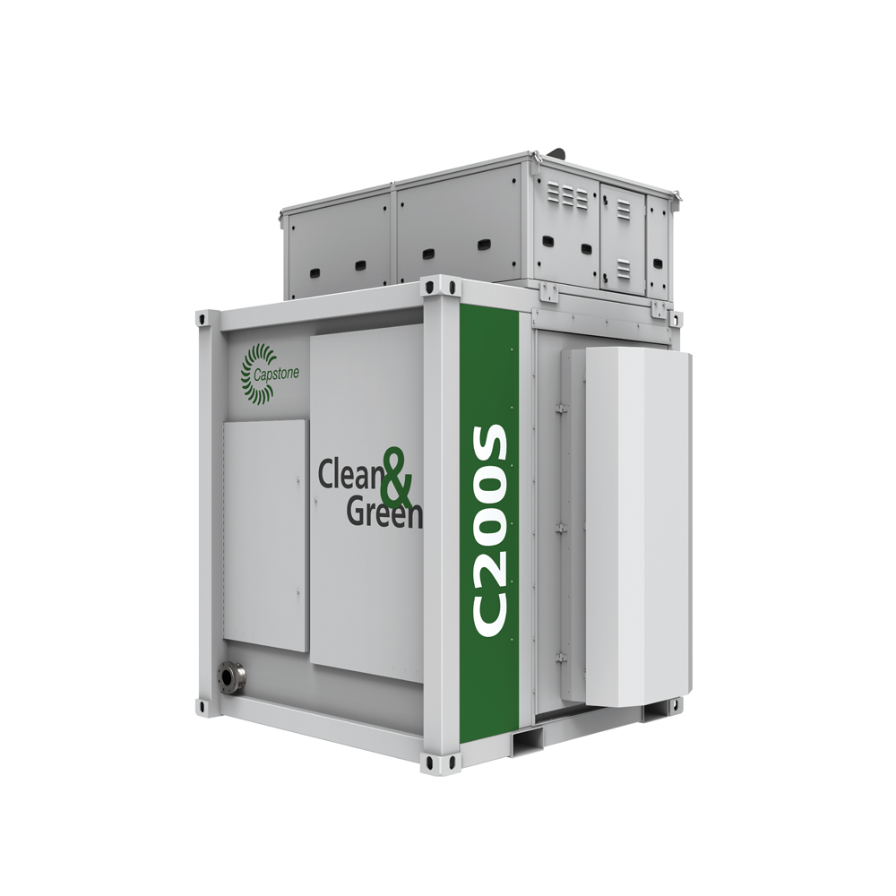 C200S CAPSTONE MICROTURBINE | MULTIPHASE POWER 02-168-3193-5 #109