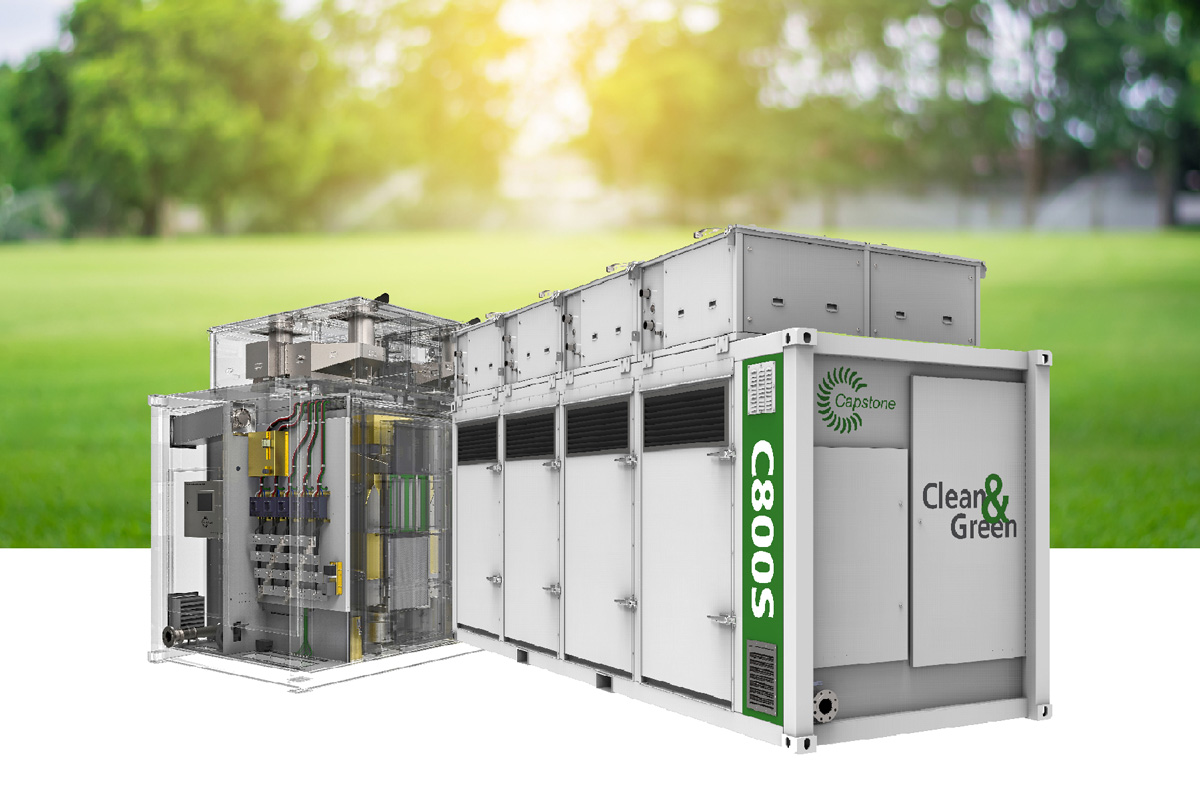 ผลิตภัณฑ์ไมโครเทอร์ไบน์ หรือเครื่องกำเนิดไฟฟ้ากังหันแก๊ส ขนาดตั้งแต่ 30-4,000 KW. นำเข้าจากประเทศอเมริกา