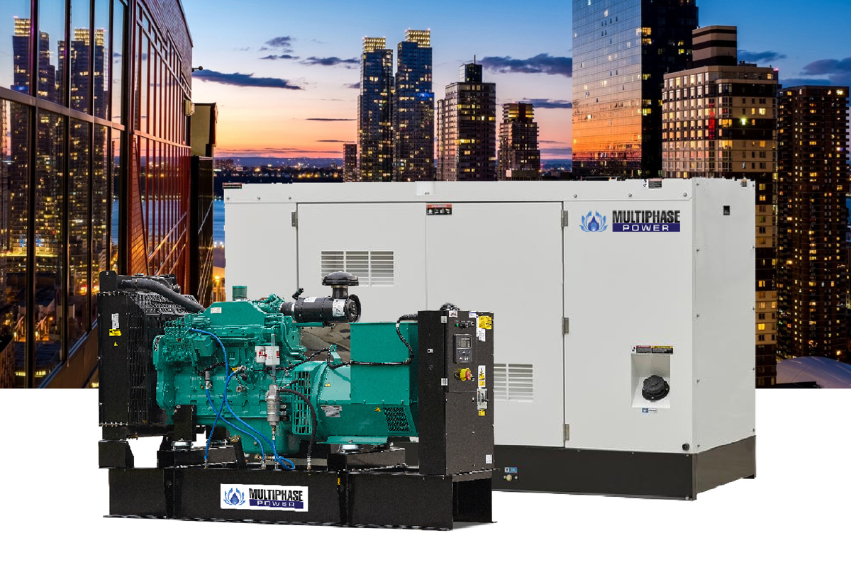 ผลิตภัณฑ์เครื่องกำเนิดไฟฟ้า หรือเครื่องปั่นไฟ ทุกชนิด ตั้งแต่ขนาด 10 - 3,000 kva แบรนด์มัลติเฟส พาวเวอร์