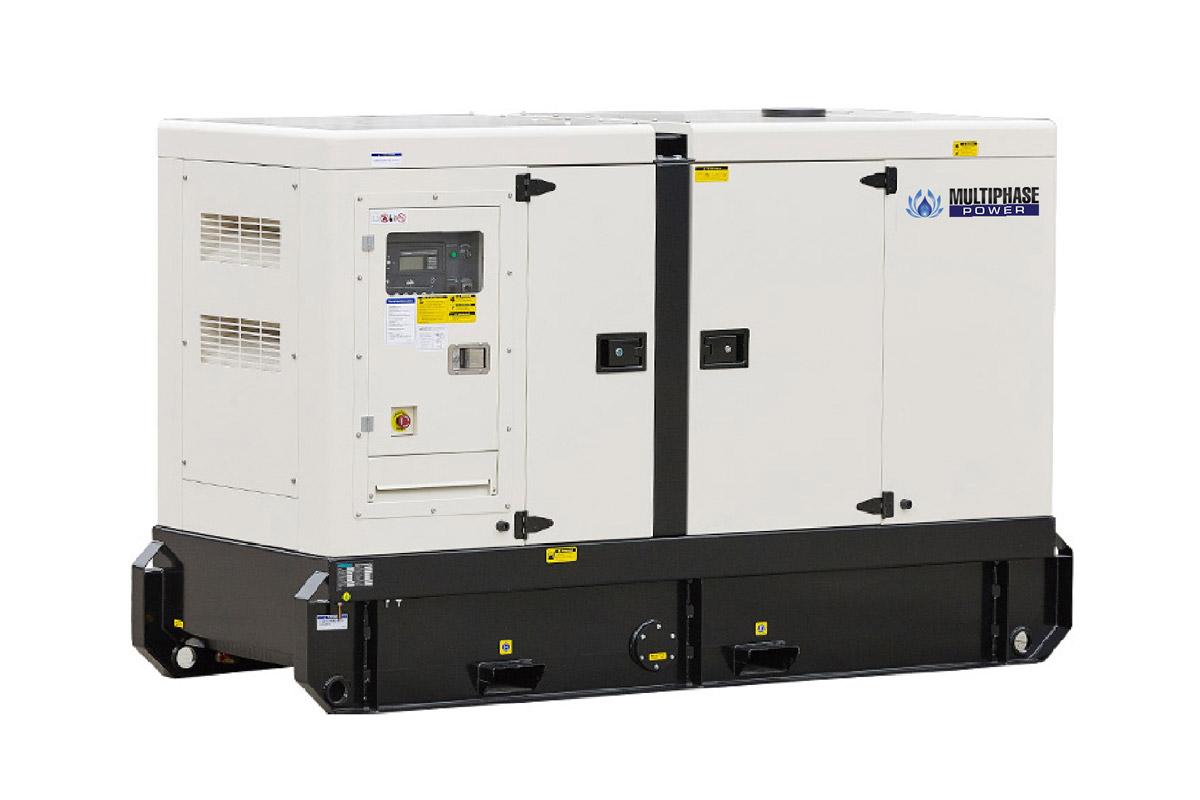GMP Series เครื่องกำเนิดไฟฟ้า/เครื่องปั่นไฟ มัลติเฟสพาวเวอร์ ที่ขับเคลื่อนด้วยเครื่องยนต์ดีเซล ของแบรนด์ Powerlink/Potise ขนาด 10-3,000 KVA