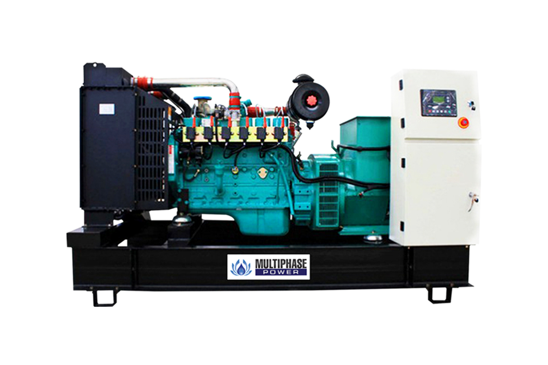 Multiphase Power Generator MP series cover a range of power from 10-3000 kVA, using diesel engine Cummins & Perkins. Call us : 02-168-3193-5