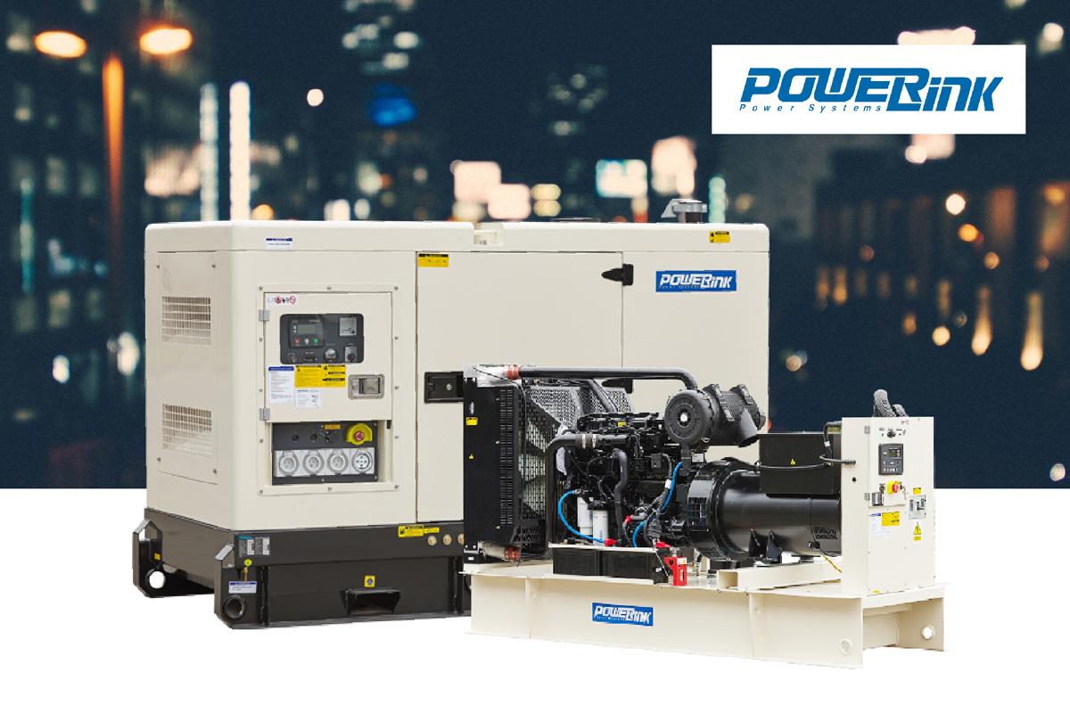 เครื่องกำเนิดไฟฟ้าดีเซล Powerlink UK คุณภาพสูง มาตรฐาน ISO | 021683193-5