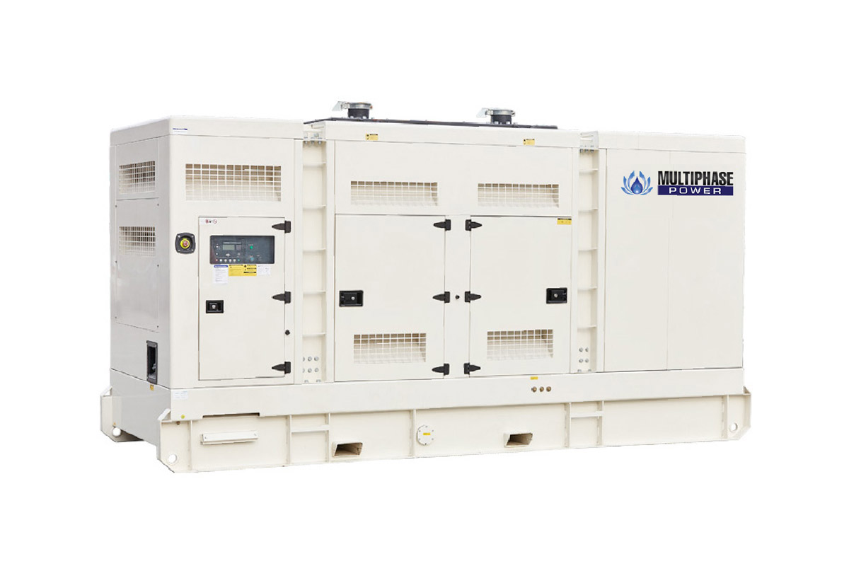 เครื่องกำเนิดไฟฟ้าแบบตู้ครอบเก็บเสียง หรือเรียกกันว่าเป็นแบบ Soundproof/Silent Type