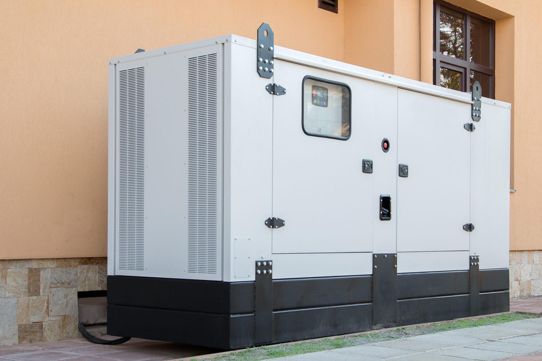 diesel generators silent type generator
