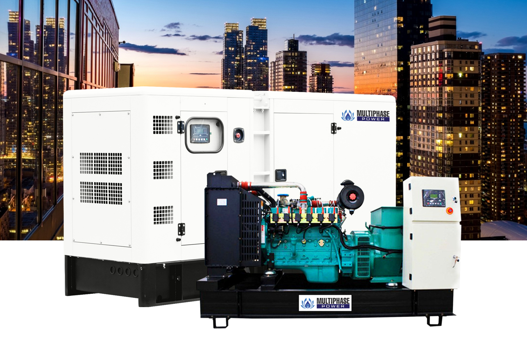 Sell generator diesel 10-3000 kva by multiphase power