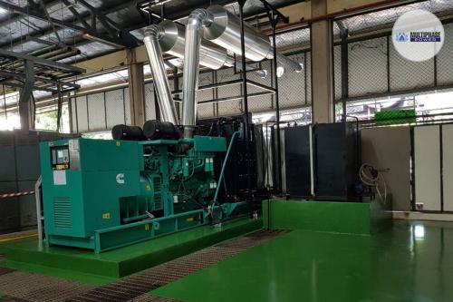 ชื่อโครงการ (Project Name) : คณะแพทยศาสตร์ มหาวิทยาลัยขอนแก่นยี่ห้อเครื่องกำเนิดไฟฟ้า (Generator Brand) : ออเดอร์พิเศษ*รุ่นเครื่องกำเนิดไฟฟ้า (Generator Model) : C1100D5 (1100 KVA)เครื่องยนต์ (Engine) : Cummins QST30G4เครื่องกำเนิดไฟฟ้า (Alternator) : Stamford HCI6Kชุดควบคุม (Controller) : Automatic Start