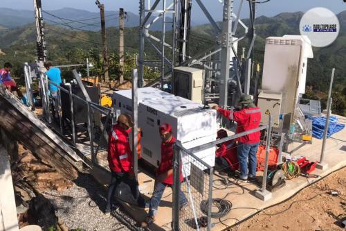 Installation Diesel Generator Set 55 kva