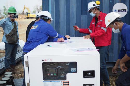 Generator Brand : Multiphase PowerGenerator Model : SDS20P5S (20 KVA)Engine : Potise 4D2.7CGAlternator : Potise PL1JController : DSE4510