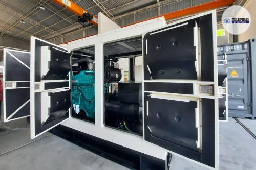 DING FONG CO., LTD.Generator Brand : Multiphase PowerGenerator Model : MP350C (350 KVA)Engine : Cummins NTA855G1BAlternator : Leroy Somer TAL-A46-GController : DSE7420ATS Model : AP800A