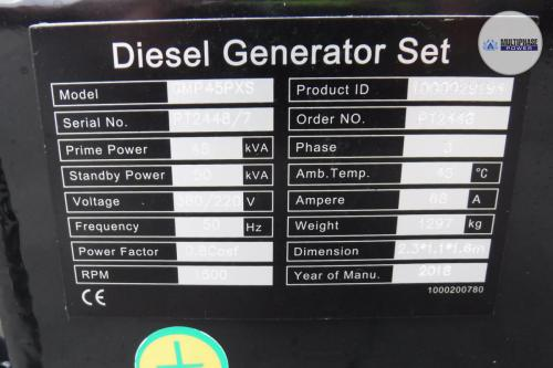 MultiphasePower Generator GMP45PXS Potise 9