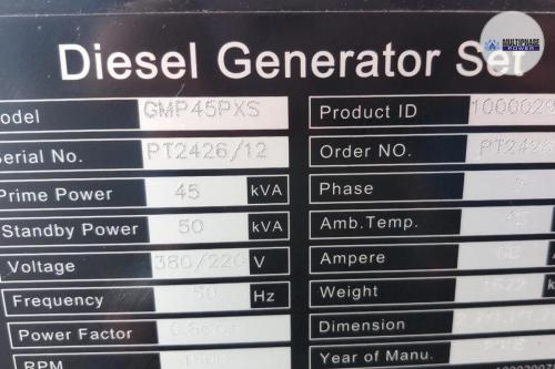 MultiphasePower Generator GMP45PXS Powerlink 8