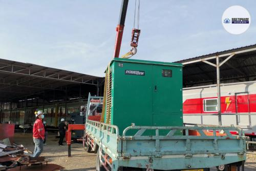 MMTL ENTERPRISE CO., LTD.Service : Load Bank RentalScope of Work : Load Bank Testing of Generator Set 350 kVAat Ban Phlu Ta Luang Train Station, ChonburiDate : Jan, 2021