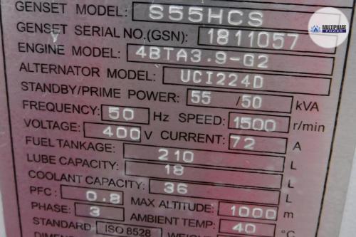 MultiphasePower Generator S55HCS 8