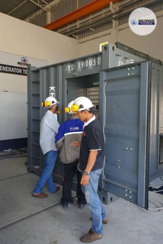 Multiphase-Power-Generator TIM-Construction 1