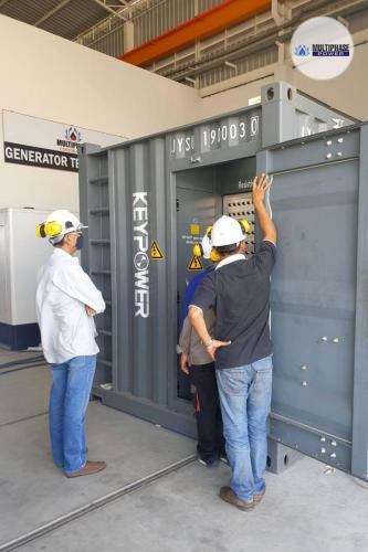 Multiphase-Power-Generator TIM-Construction 3
