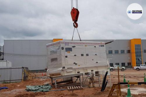 ผลงานของเรา เครื่องกำเนิดไฟฟ้า 200 kVA ของลูกค้าไทยทาเคนาคา