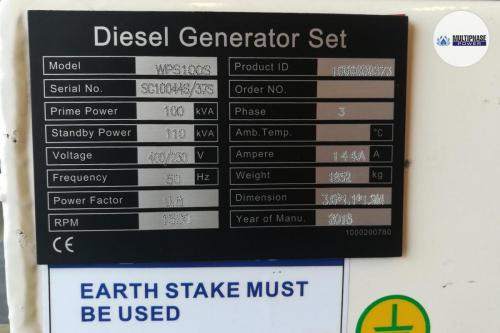 Multiphase Power Generator WPS100S 12