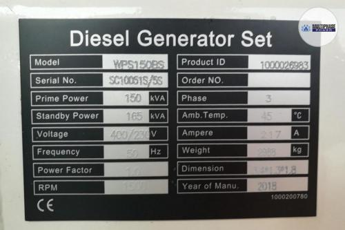 Multiphase Power Generator WPS150BS 11