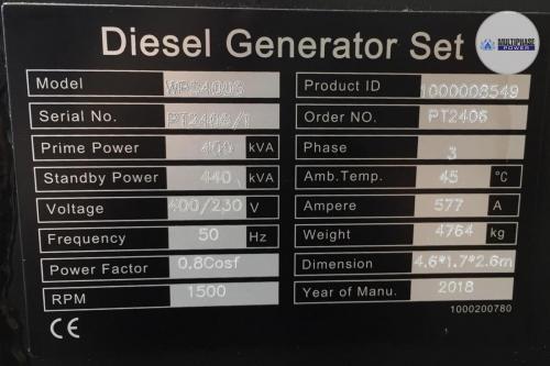 MultiphasePower Generator WPS400S 7